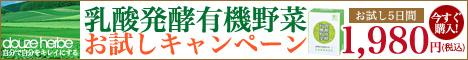 ドゥーズエルブ『乳酸発酵有機野菜』お試しキャンペーン